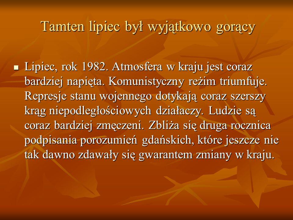 Wydarzenia Lubi ń skie z 31 sierpnia 1982r.