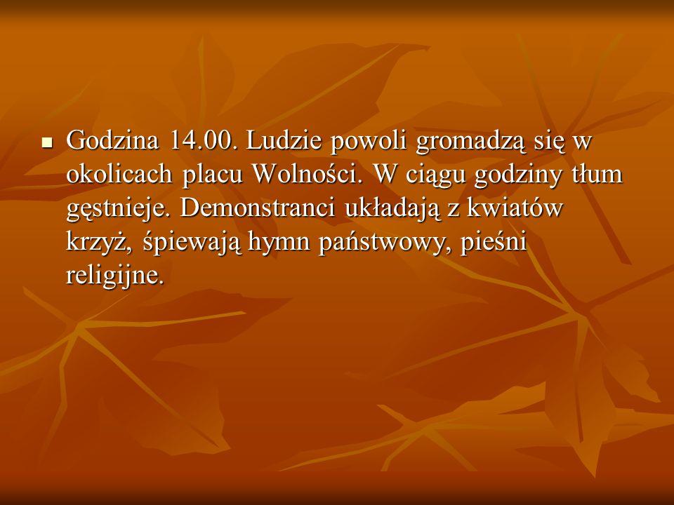 Tymczasowa Komisja Koordynacyjna NSZZ Solidarność wzywa członków związku do udziału w pokojowych manifestacjach, organizowanych w większości miast Pol