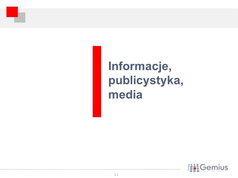 21 Informacje, publicystyka, media
