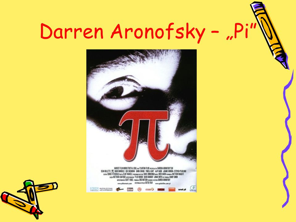 Darren Aronofsky – Pi