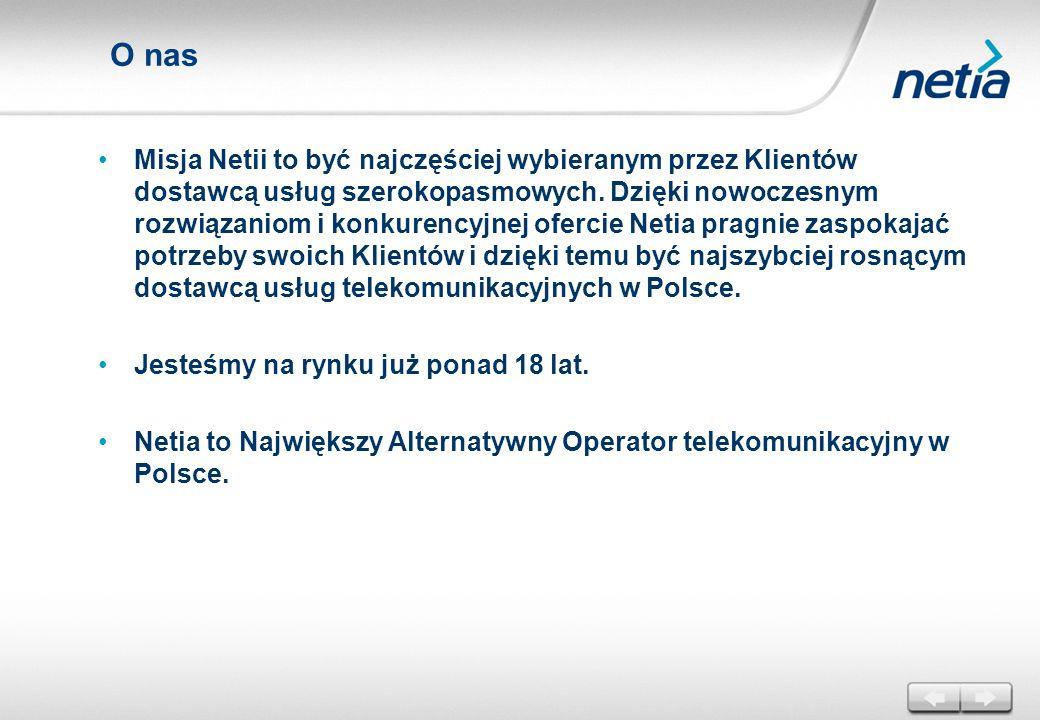 Wyróżnienia Netia zdobyła pierwsze miejsce w kategorii Best Service Provider Deployment czyli Najlepszy Wdrożony Serwis Operatorski w Regionie EMEA (Europa, Bliski Wschód i Afryka).