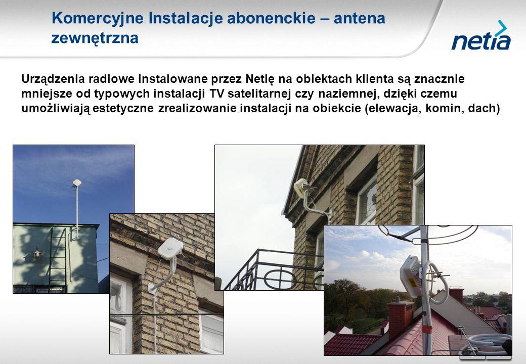 Praktyczna wiedza i doświadczenie największego operatora w Polsce wykorzystującego WiMAX (100 stacji Wimax, 17 tys.