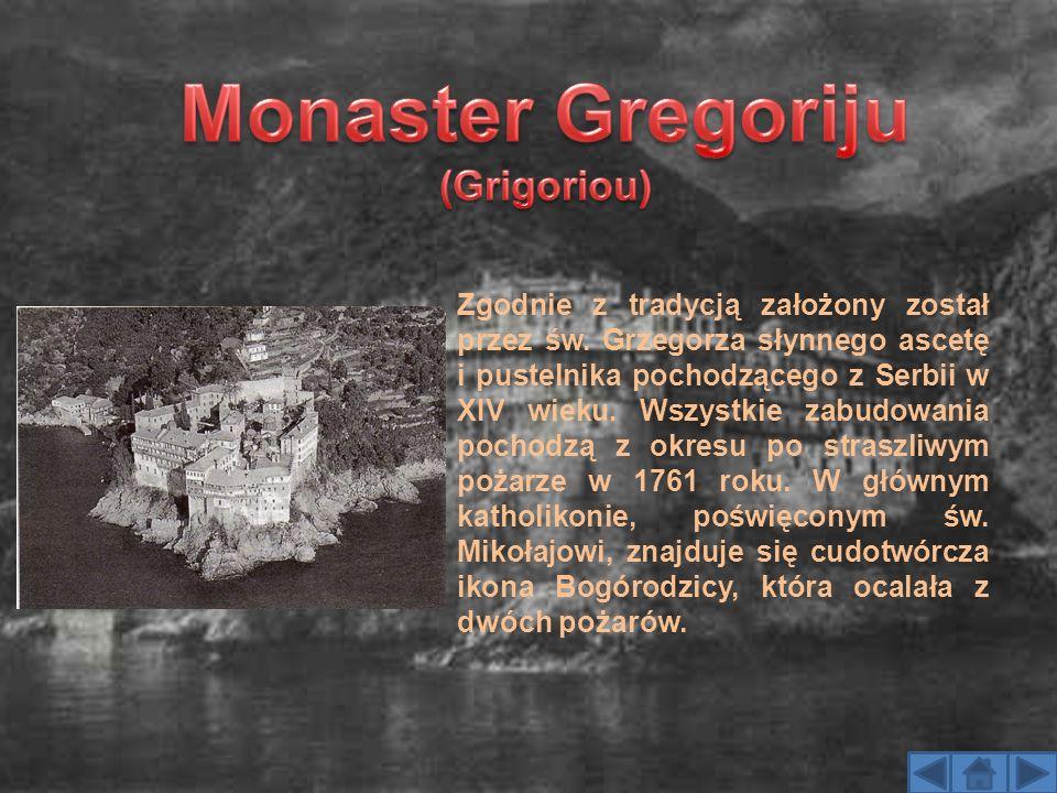 Zgodnie z tradycją założony został przez św. Grzegorza słynnego ascetę i pustelnika pochodzącego z Serbii w XIV wieku. Wszystkie zabudowania pochodzą