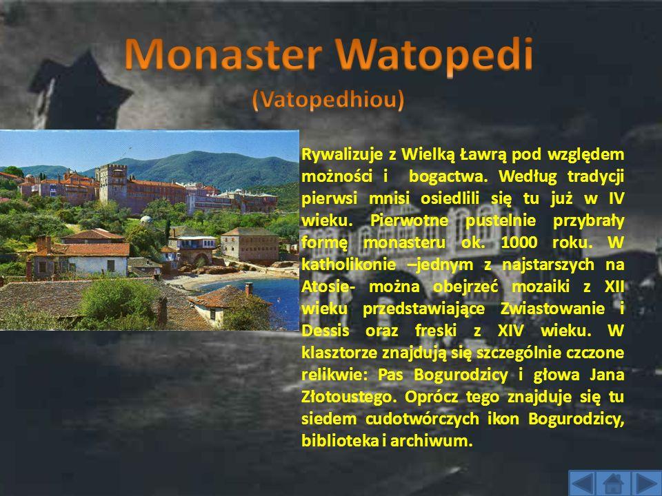 Założyli go w X wieku mnisi gruzińscy.