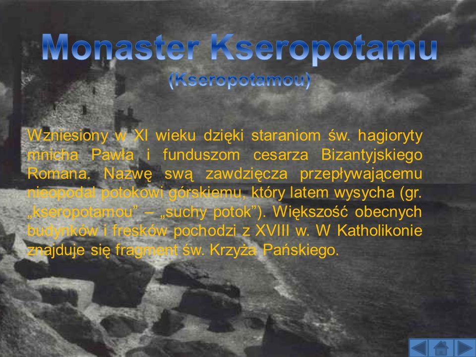 Najbardziej oddalony od morza monaster, zamieszkany przez bułgarską wspólnotę.