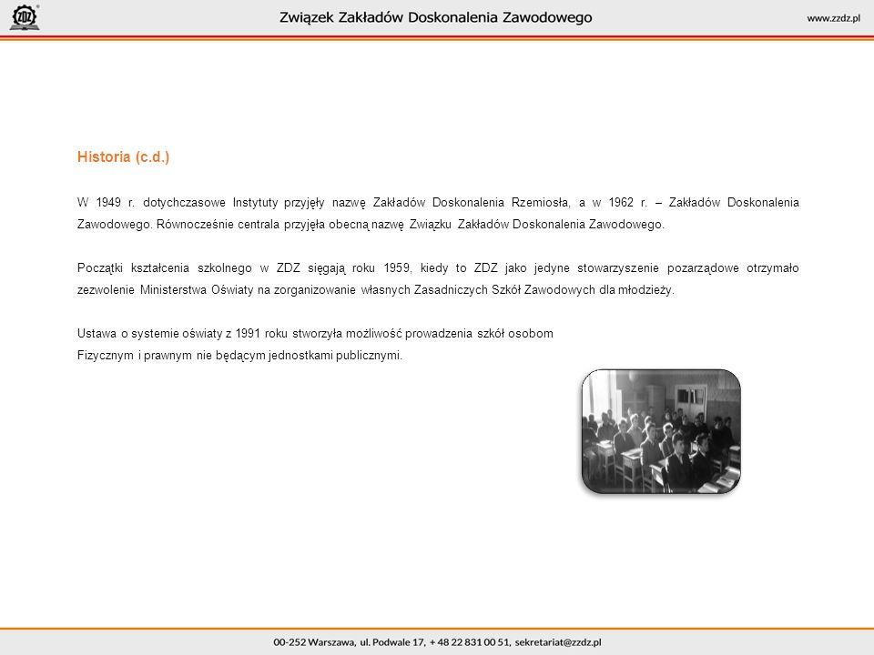 Historia (c.d.) W 1949 r.