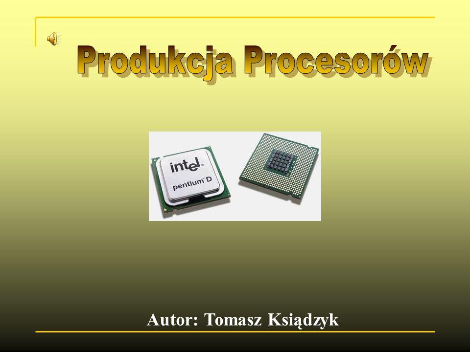 V.Ostatni piąty etap produkcji procesorów to testowanie i określanie częstotliwości.