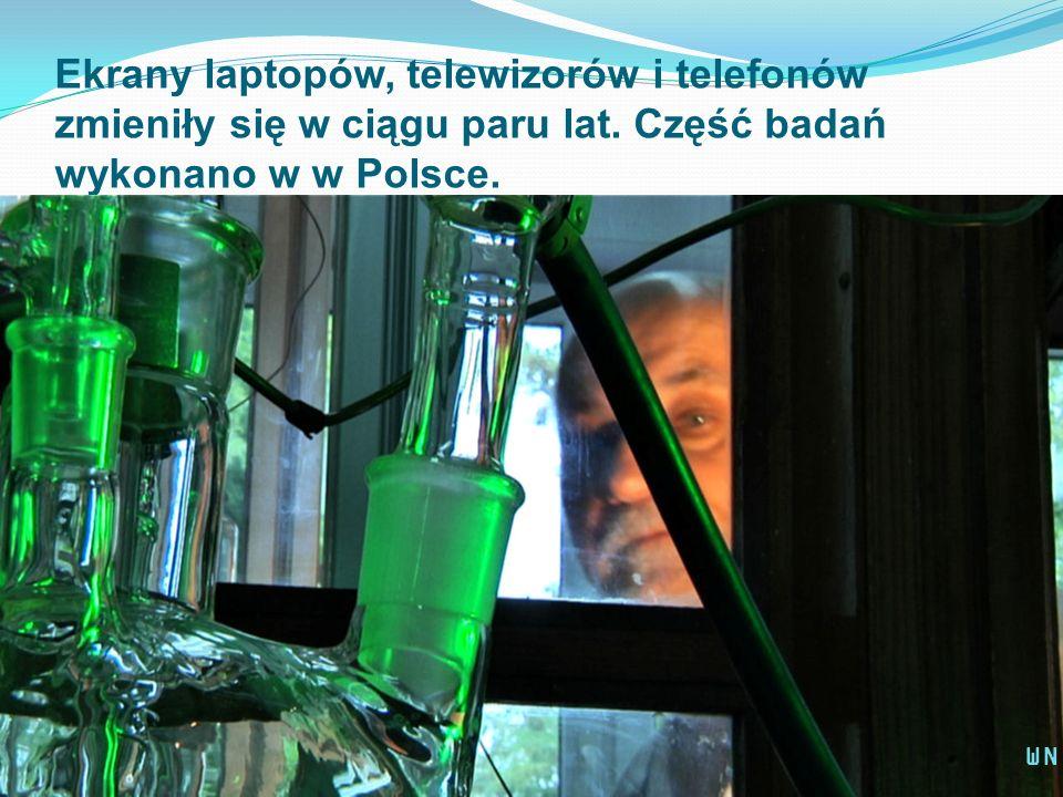 Ekrany laptopów, telewizorów i telefonów zmieniły się w ciągu paru lat. Część badań wykonano w w Polsce. WN