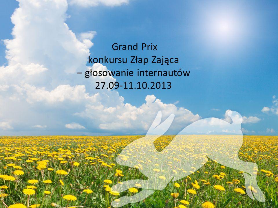 Grand Prix konkursu Złap Zająca – głosowanie internautów 27.09-11.10.2013