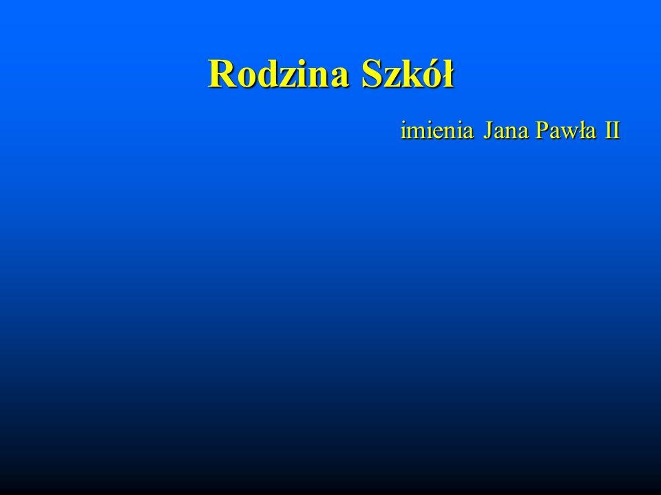 Rodzina Szkół imienia Jana Pawła II