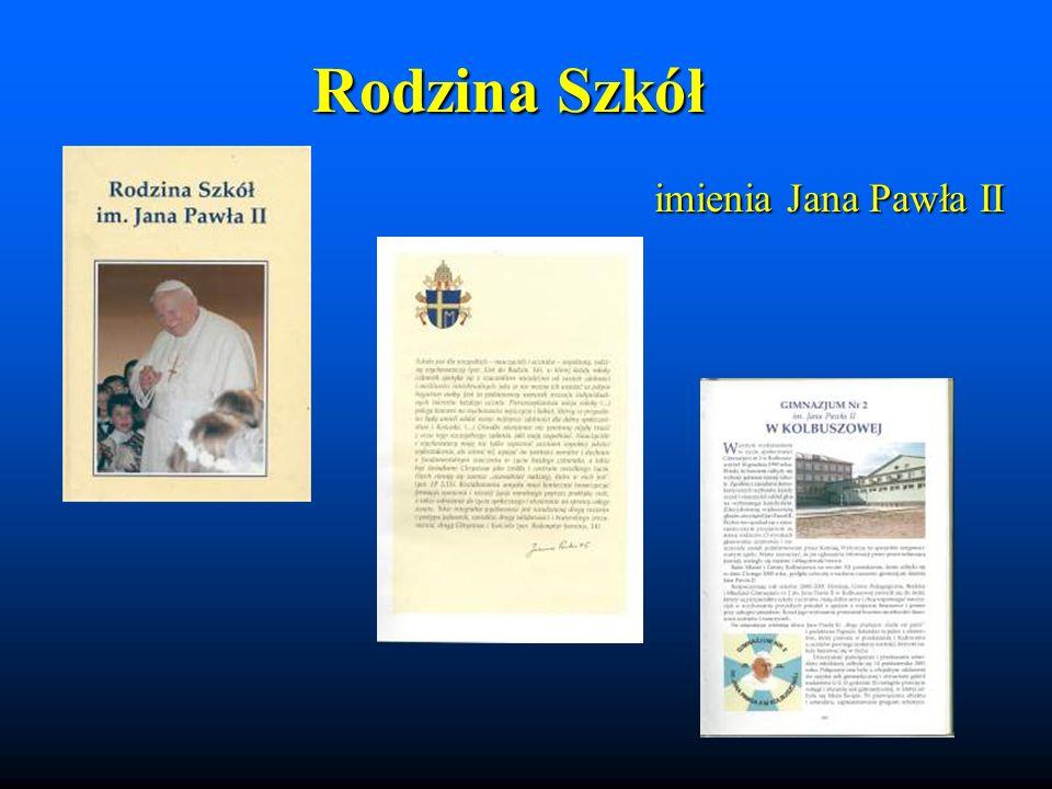 imienia Jana Pawła II Rodzina Szkół