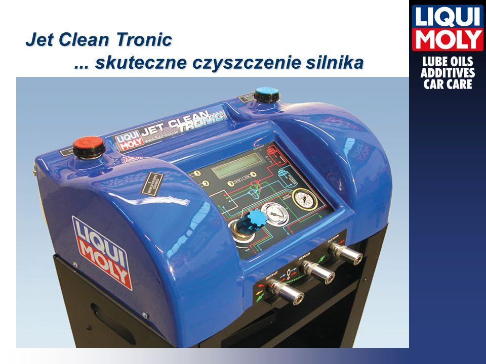 Jet Clean Tronic... skuteczne czyszczenie silnika