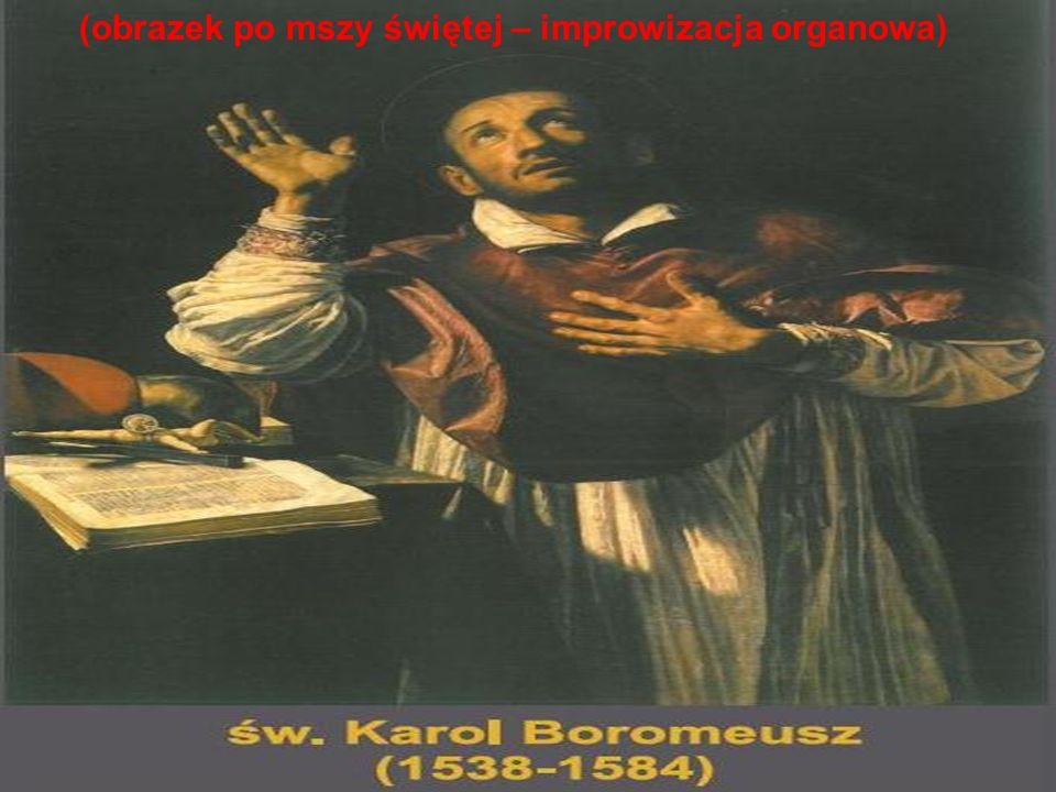 (obrazek po mszy świętej – improwizacja organowa)