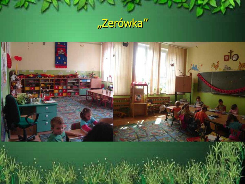 Gabinety i sale szkoły Gabinet pedagoga Gabinet terapeutyczny Sala komputerowa