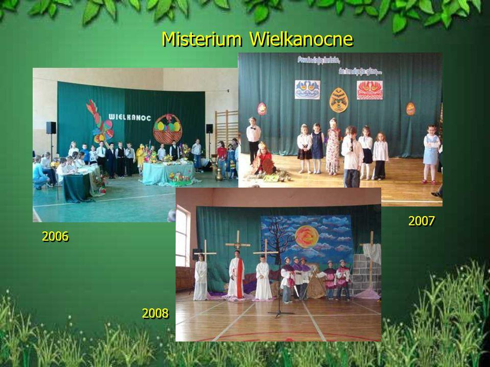 W szkole odbywały się liczne uroczystości 2006 2007 Jasełka