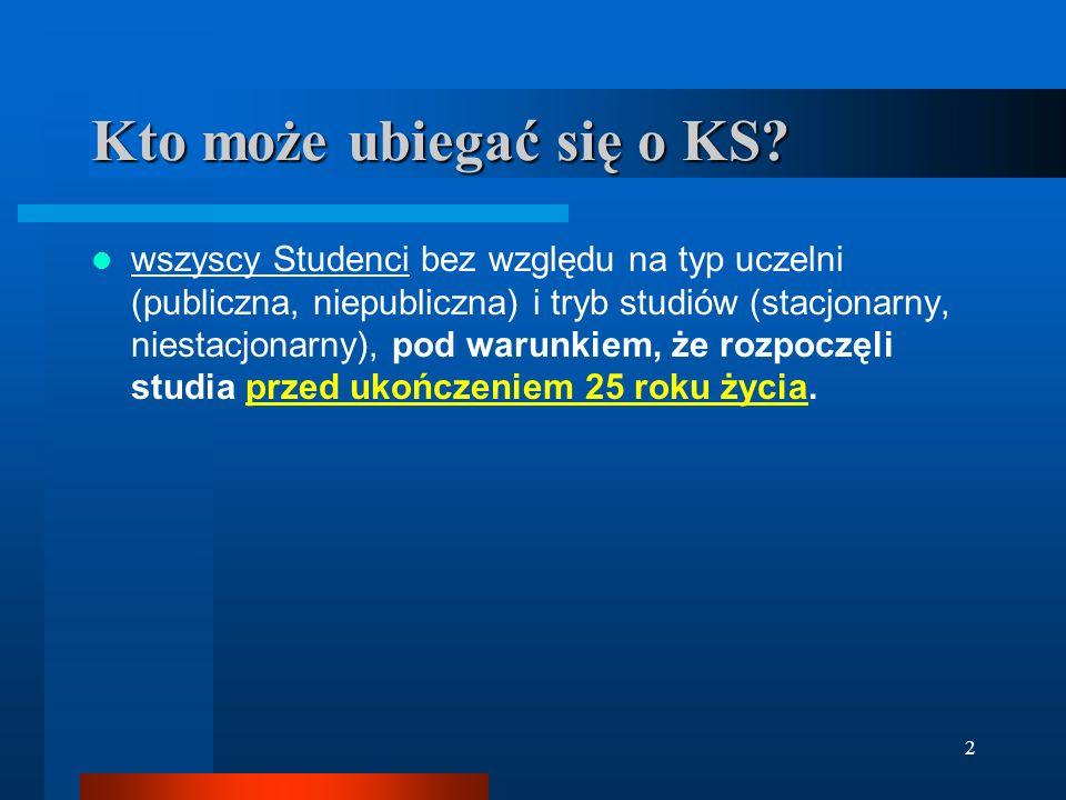 Preferencyjny Kredyt Studencki (KS) 27 sierpnia 2008 www.KredytStudencki.com.pl