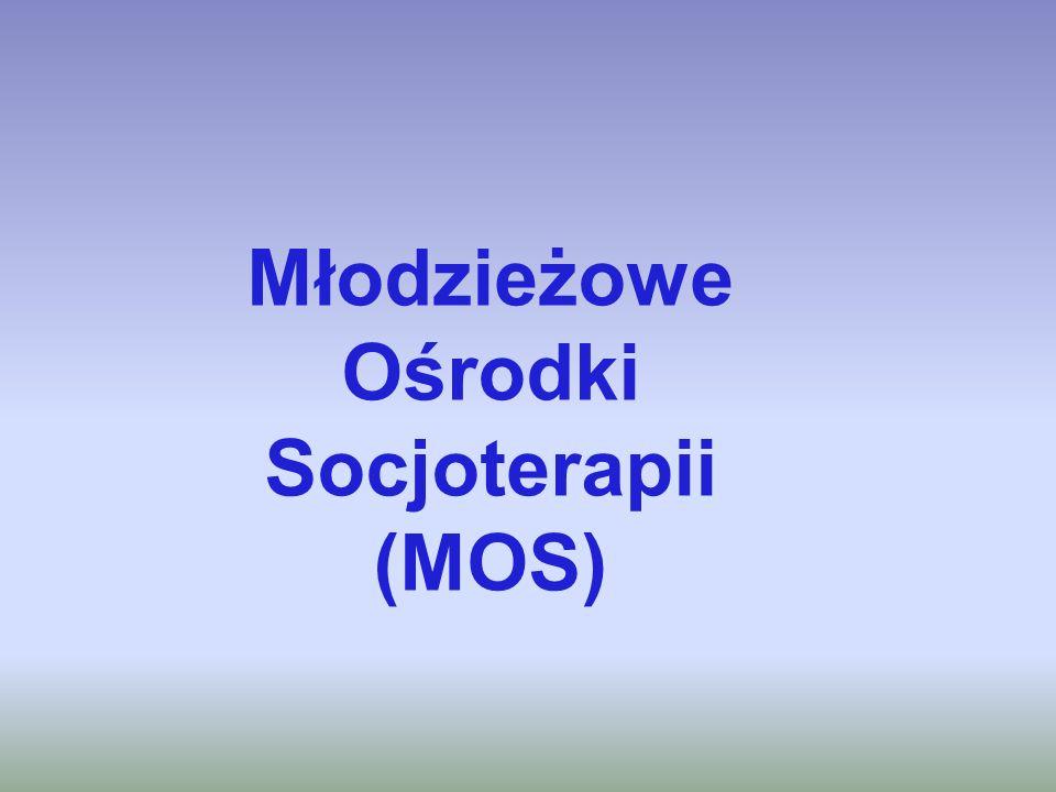 Młodzieżowe Ośrodki Socjoterapii (MOS)