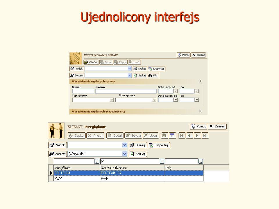 Ujednolicony interfejs