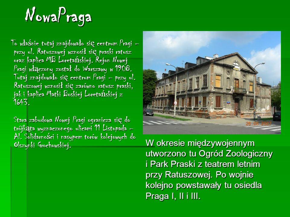NowaPraga To w ł a ś nie tutaj znajdowa ł o si ę centrum Pragi – przy ul.