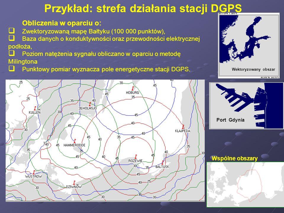 Obliczenia w oparciu o: Zwektoryzowaną mapę Bałtyku (100 000 punktów), Baza danych o konduktywności oraz przewodności elektrycznej podłoża, Poziom nat