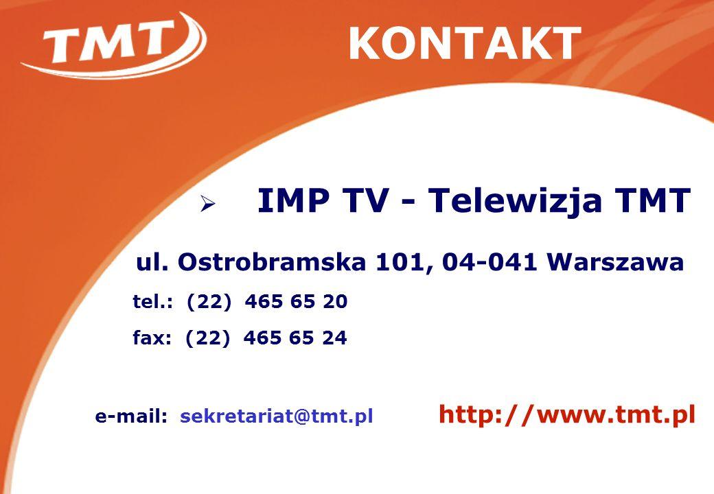KONTAKT IMP TV - Telewizja TMT ul.