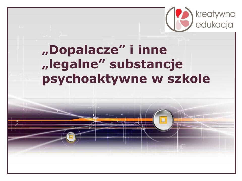 LOGO Dopalacze i inne legalne substancje psychoaktywne w szkole