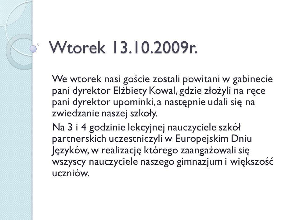 W ramach Europejskiego Dnia Języków odbył się przegląd piosenki obcojęzycznej, wierszy i tańców
