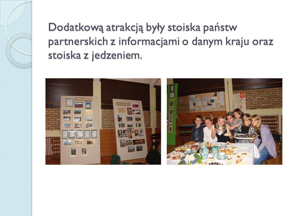 Dużym zainteresowaniem wśród gości cieszyło się stanowisko Polski
