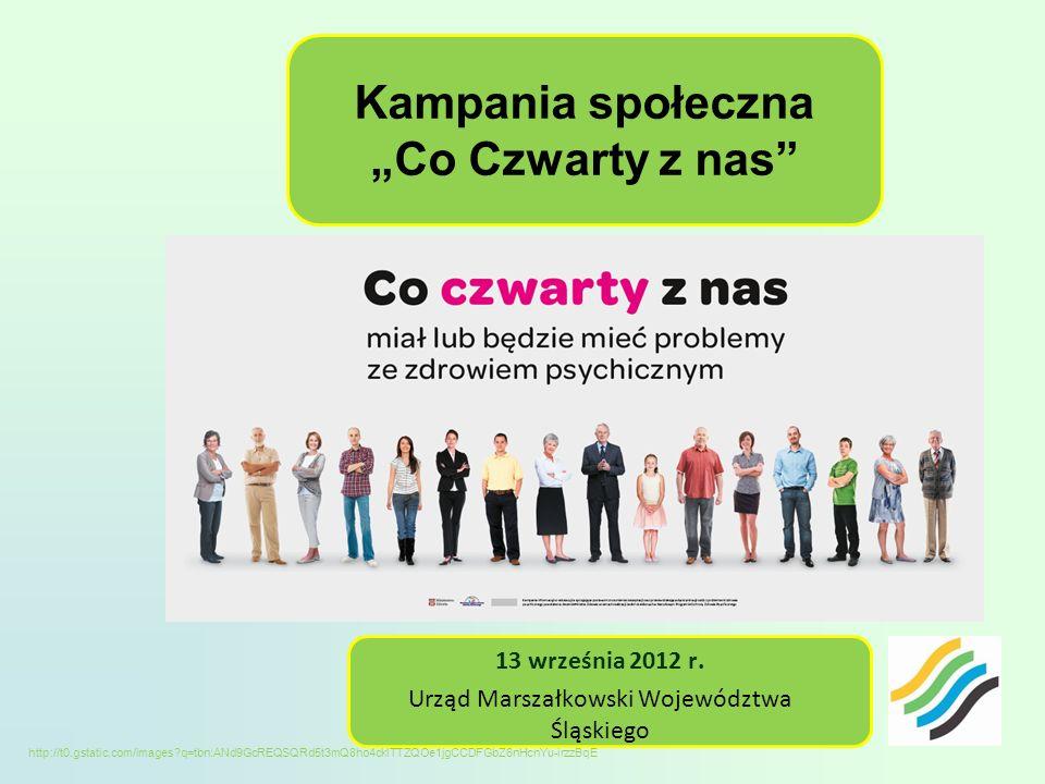 Kampania społeczna Co Czwarty z nas 13 września 2012 r.