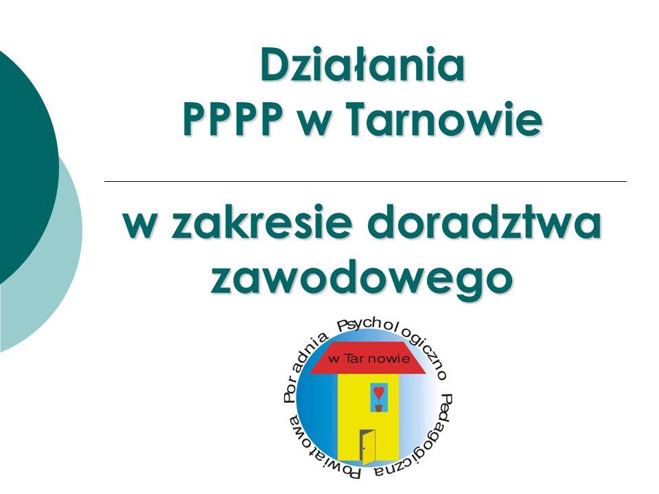 Działania PPPP w Tarnowie w zakresie doradztwa zawodowego