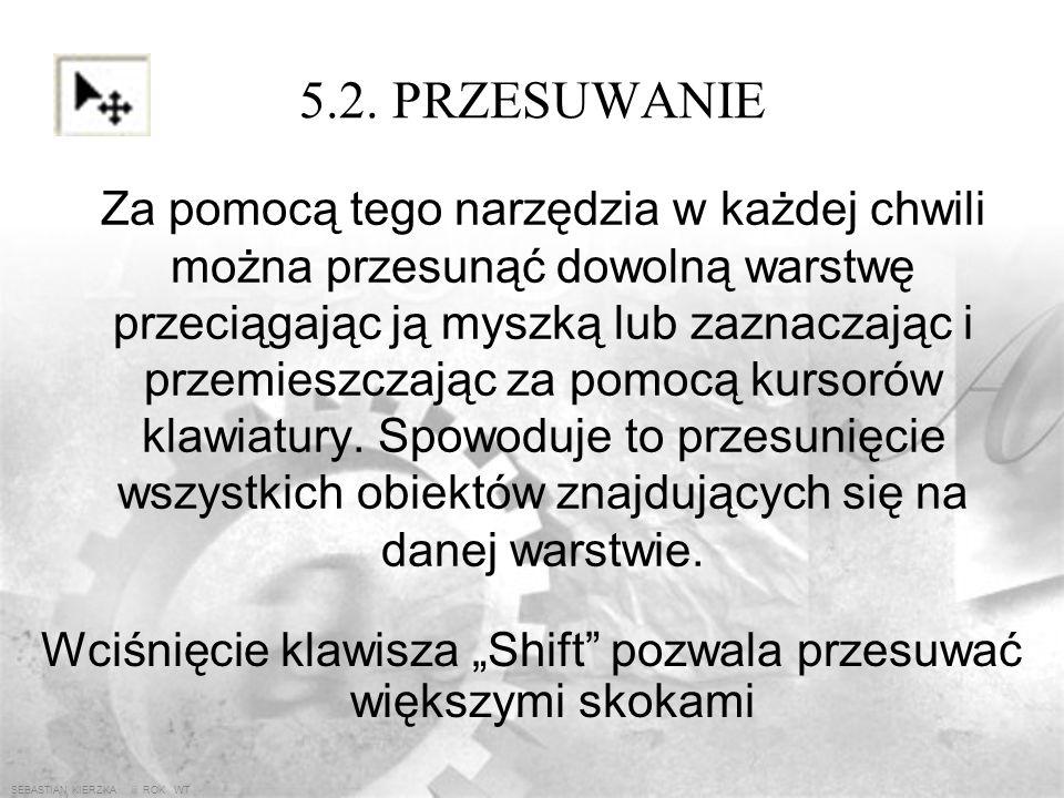 SEBASTIAN KIERZKA iii ROK WT