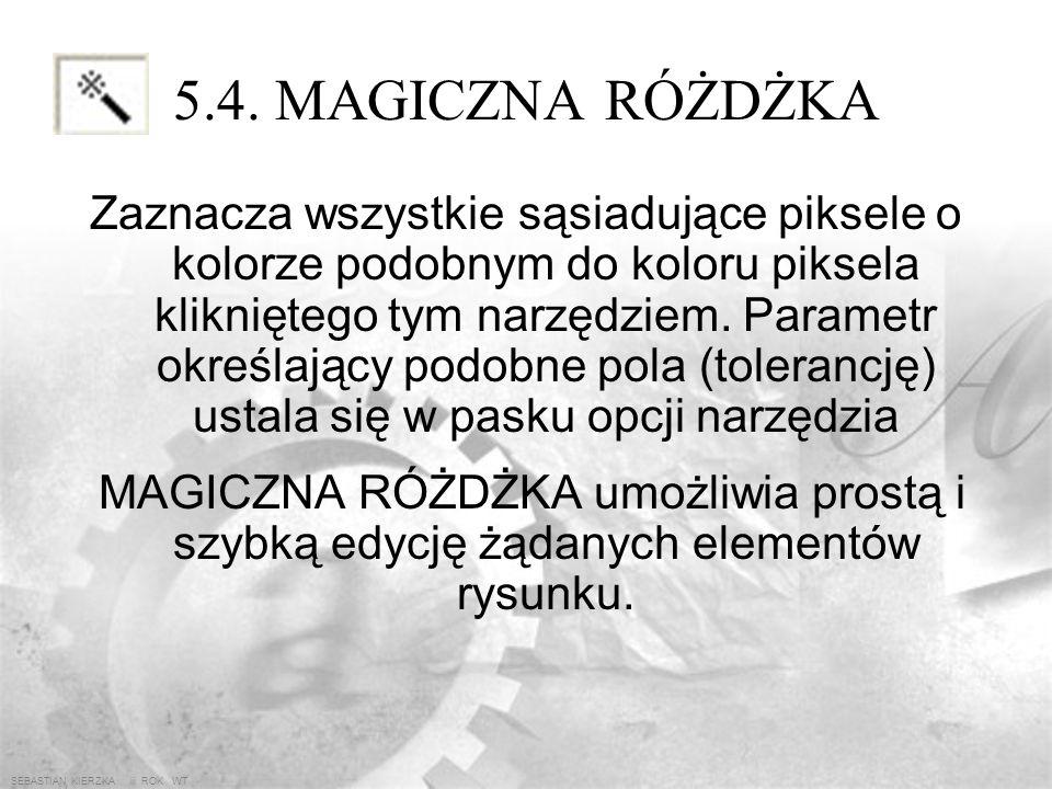 SEBASTIAN KIERZKA iii ROK WT 5.3. LASSO