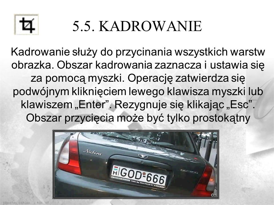 SEBASTIAN KIERZKA iii ROK WT 5.4. MAGICZNA RÓŻDŻKA