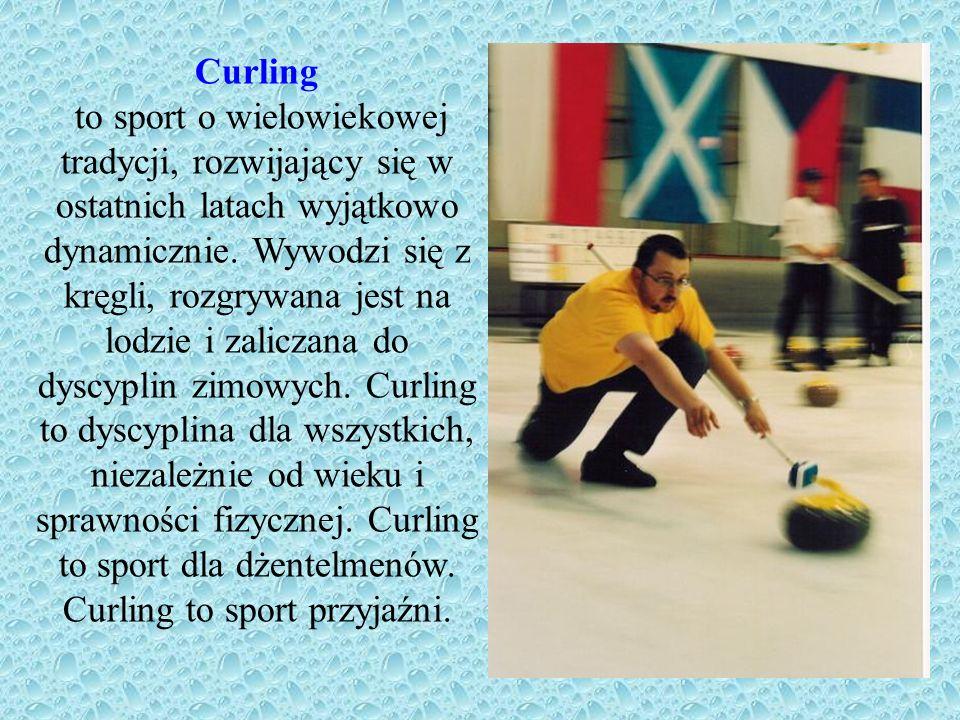 Zasady gry Zasady gry w curling są niezwykle proste.