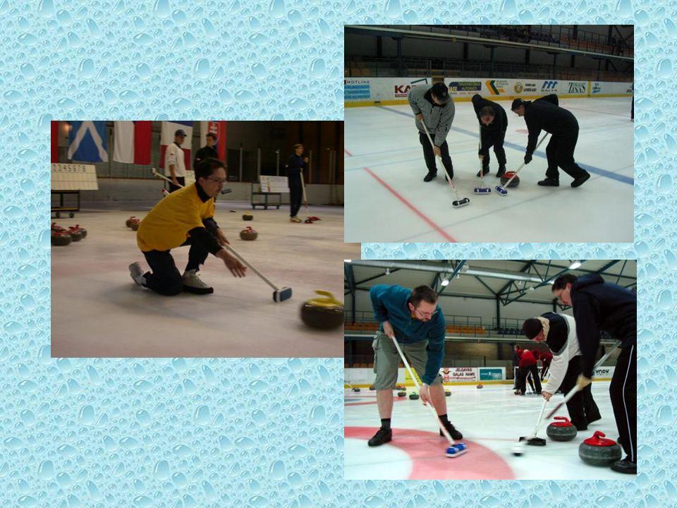 Sprzęt do curlingu W curling gra się kamieniami zrobionymi z wyjątkowego granitu.