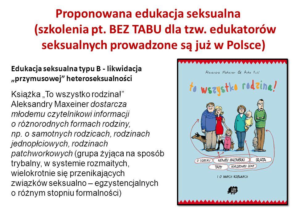 Książka To wszystko rodzina! Aleksandry Maxeiner dostarcza młodemu czytelnikowi informacji o różnorodnych formach rodziny, np. o samotnych rodzicach,