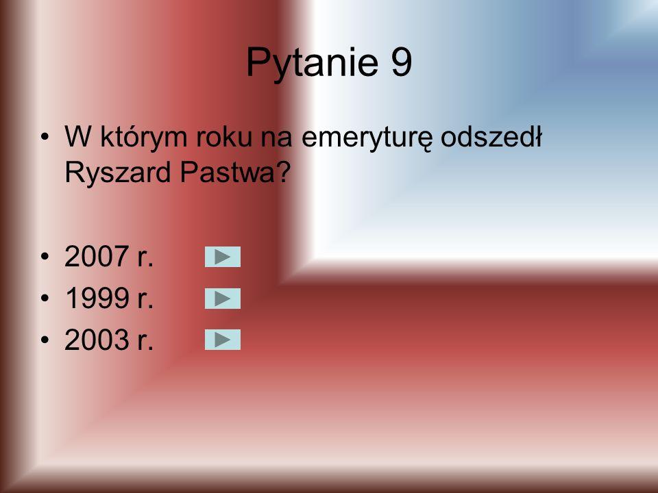 Pytanie 8 W którym roku oddano do użytku nowy budynek szkoły (obecnie Gimnazjum Jana Pawła II)? 1 września1998 r. 6 października 1976 r. 1 września 19