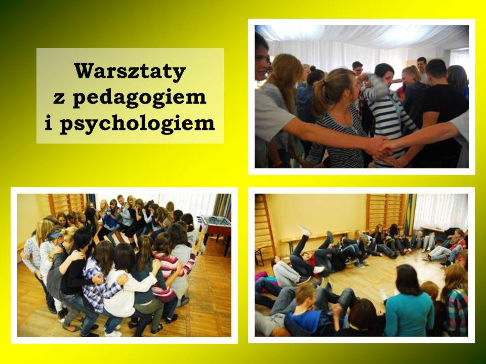 Warsztaty z pedagogiem i psychologiem