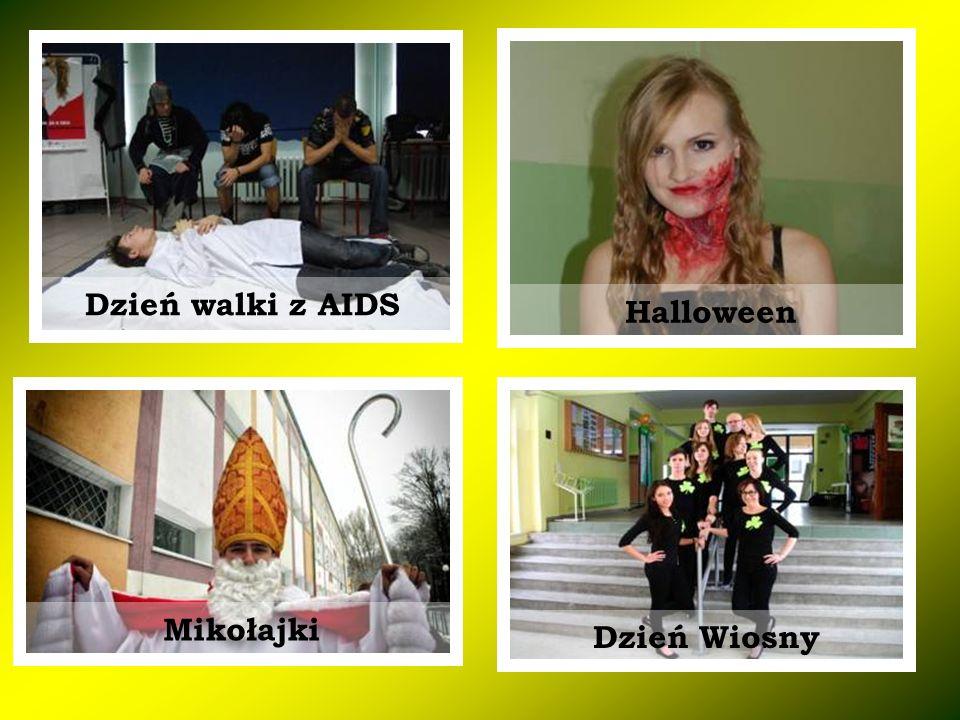 Halloween Dzień Wiosny Dzień walki z AIDS Mikołajki