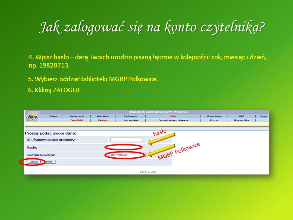 Biblioteka w Internecie Zapraszamy również do odwiedzania strony internetowej naszej Biblioteki znajdującej sie pod adresem www.mgbp.pl.