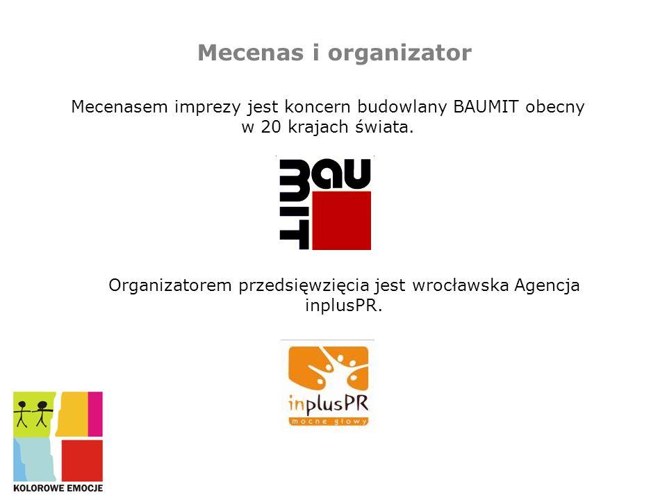 Mecenas i organizator Mecenasem imprezy jest koncern budowlany BAUMIT obecny w 20 krajach świata.