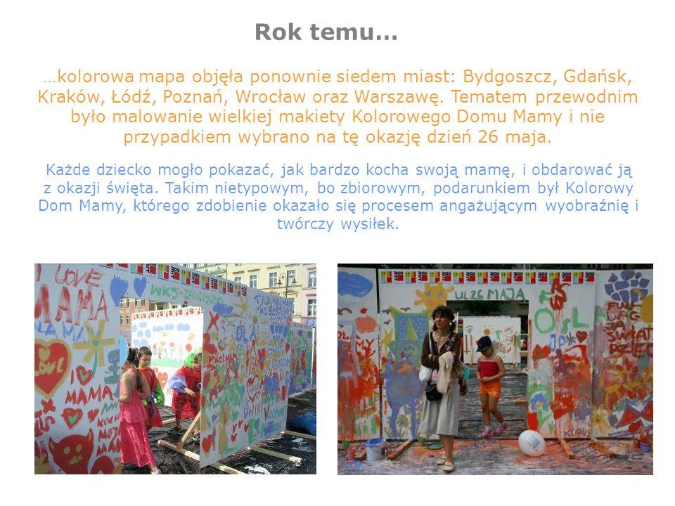 Strona internetowa www.koloroweEMOCJE.pl Strona internetowa będzie platformą informacyjną oraz interaktywną.
