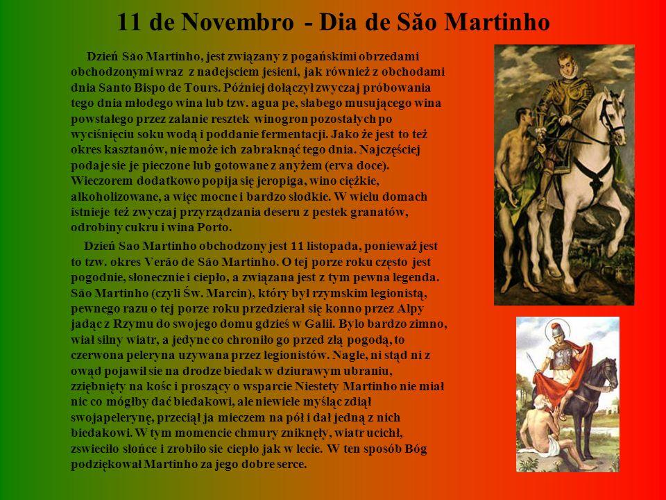 KOGUT Z BARCELOS Kogut z Barcelos to wszechobecny symbol Portugalii. Pocztówki, obrazki, figurki i pamiatki wszelkiego rodzaju, przedstawiają kolorowe