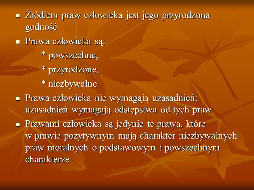Prawo do prywatności Prawo do prywatności Prawo do słusznego i sprawiedliwego procesu Prawo do słusznego i sprawiedliwego procesu Prawo do pracy i wynagrodzenia za nią Prawo do pracy i wynagrodzenia za nią Prawo do nauki Prawo do nauki Prawo do korzystania z postępu naukowego Prawo do korzystania z postępu naukowego Prawo do udziału w życiu kulturalnym Prawo do udziału w życiu kulturalnym Prawo do godnego życia Prawo do godnego życia Prawo do zdrowia Prawo do zdrowia Prawo do ochrony rodziny i macierzyństwa Prawo do ochrony rodziny i macierzyństwa