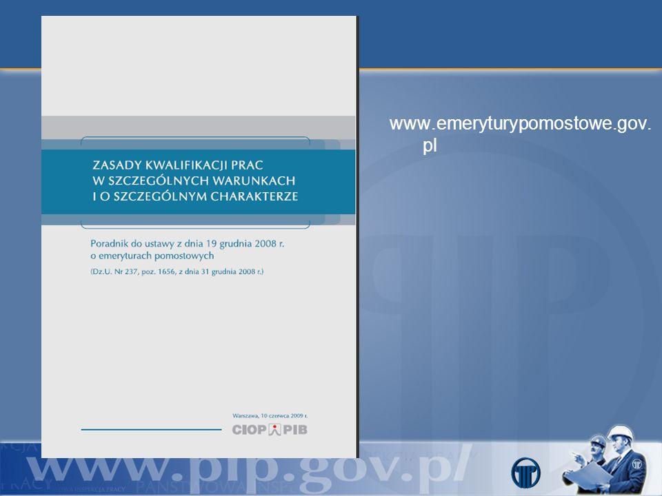 www.emeryturypomostowe.gov. pl