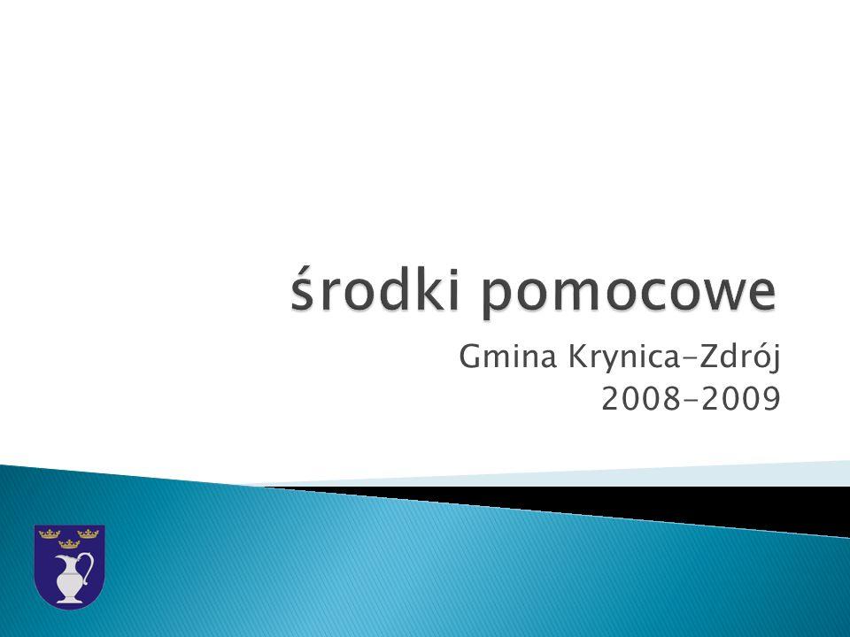 Gmina Krynica-Zdrój 2008-2009