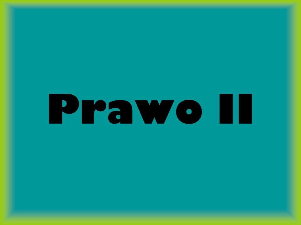 Prawo II
