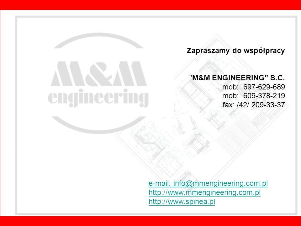 Zapraszamy do współpracy M&M ENGINEERING S.C.