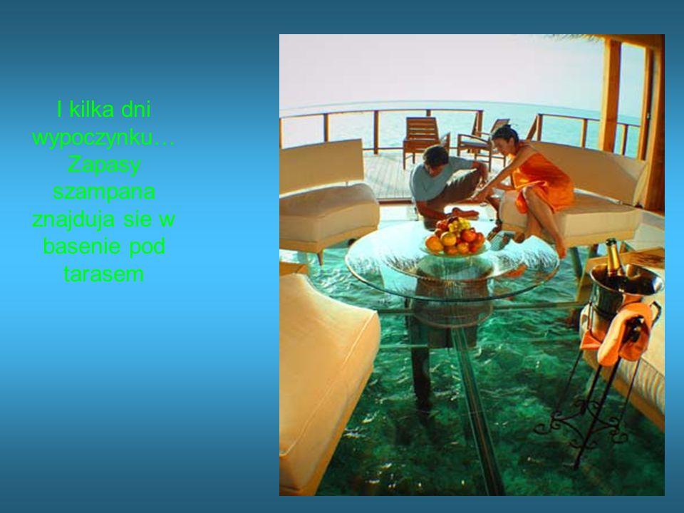 W sypialni znajdziesz wyposazenie do wedkowania Lub nurkowania