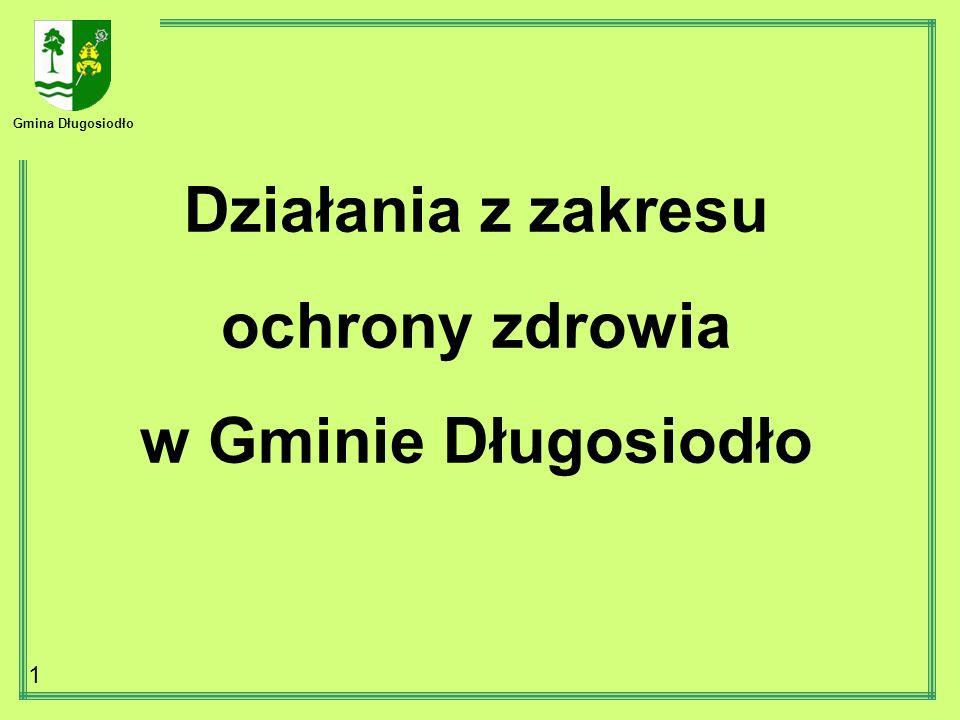 Gmina Długosiodło 1 Działania z zakresu ochrony zdrowia w Gminie Długosiodło